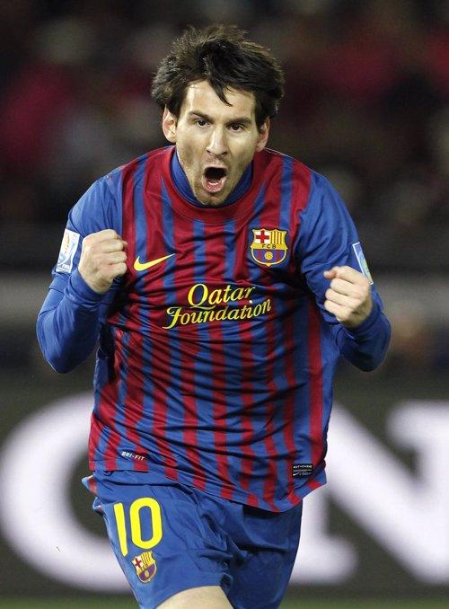 Messi Mundial Clubes 2011