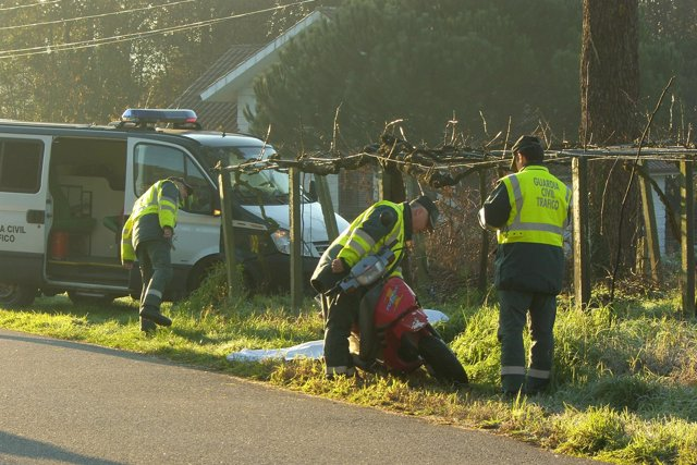 Un Hombre Fallece En Un Accidente De Moto En O Rosal
