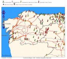 Mapa De Fosas En Galicia