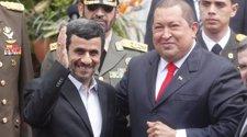 El Presidente De Irán, Mahmud Ahmadineyad, Y El De Venezuela, Hugo Chávez.