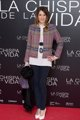 Elena Ballesteros en el estreno de 'La chispa de l