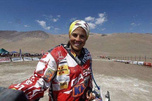 Laia Sanz Dakar 2012