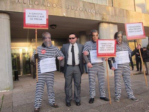 Juicio contra la secretaria xeral del igape por acoso for Juzgado de dolores