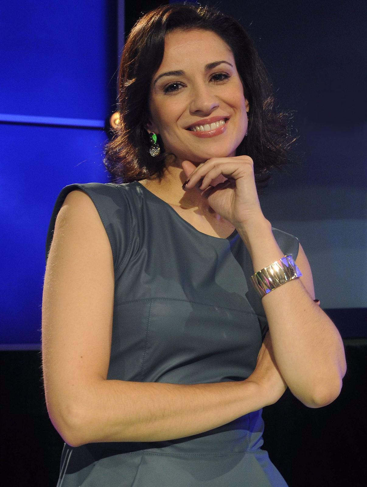 La presentadora Silvia Jato