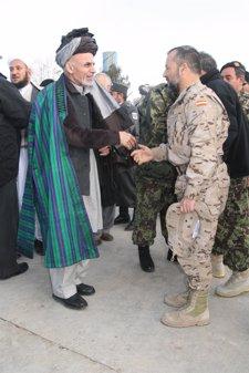 Acto Entrega De Responsabilidad A Las Autoridades Afganas Por Tropas Españolas
