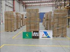 Cajetillas De Tabaco De Contrabando Intervenidas Por La AEAT Y La Guardia Civil