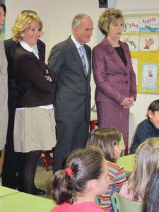 Visita de la presidenta de Irlanda al colegio Bilingüe Ramiro de Maeztu
