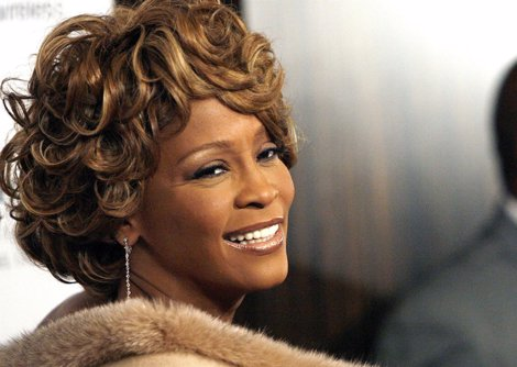 La cantante Whitney Houston