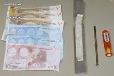Utensilios Usados Para El 'Cash Trapping' En Almería
