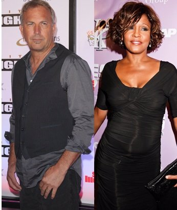 Montaje Kevin Costner Y Whitney Houston