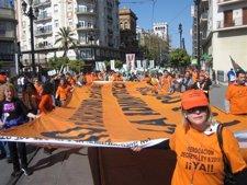 Manifestación De Empleados Públicos En Sevilla