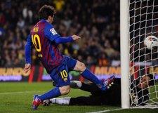 Messi Hace Cuatro Goles Al Valencia