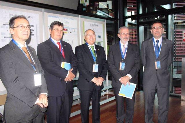 Los Rectores Valencianos En La Presentación Del Campus De Excelencia