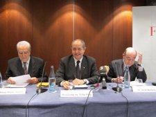 Josep Maria Antràs, Felip Puig Y Jordi Barbeta