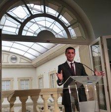 Javier A. García, En Rueda De Prensa Tras La Junta De Gobierno De Diputación