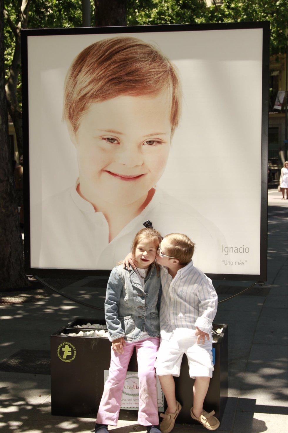 Exposión Fotográfica Con Niños De La Fundación Síndrome De Down