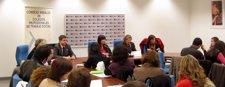 Navarro Participa En Una Jornada De Colegios Profesionales De Trabajo Social