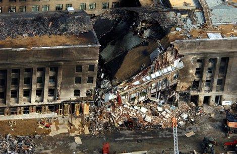El Pentágono Atacado Durante El 11 De Septiembre De 2001