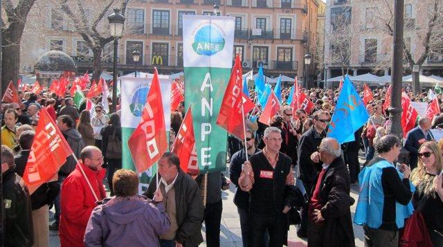 Concentración Sindicatos Toledo