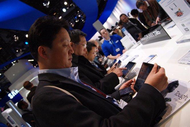 Galaxy Tab En El MWC2011
