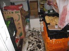 Alimentos Intervenidos En La Operación De La Guardia Urbana