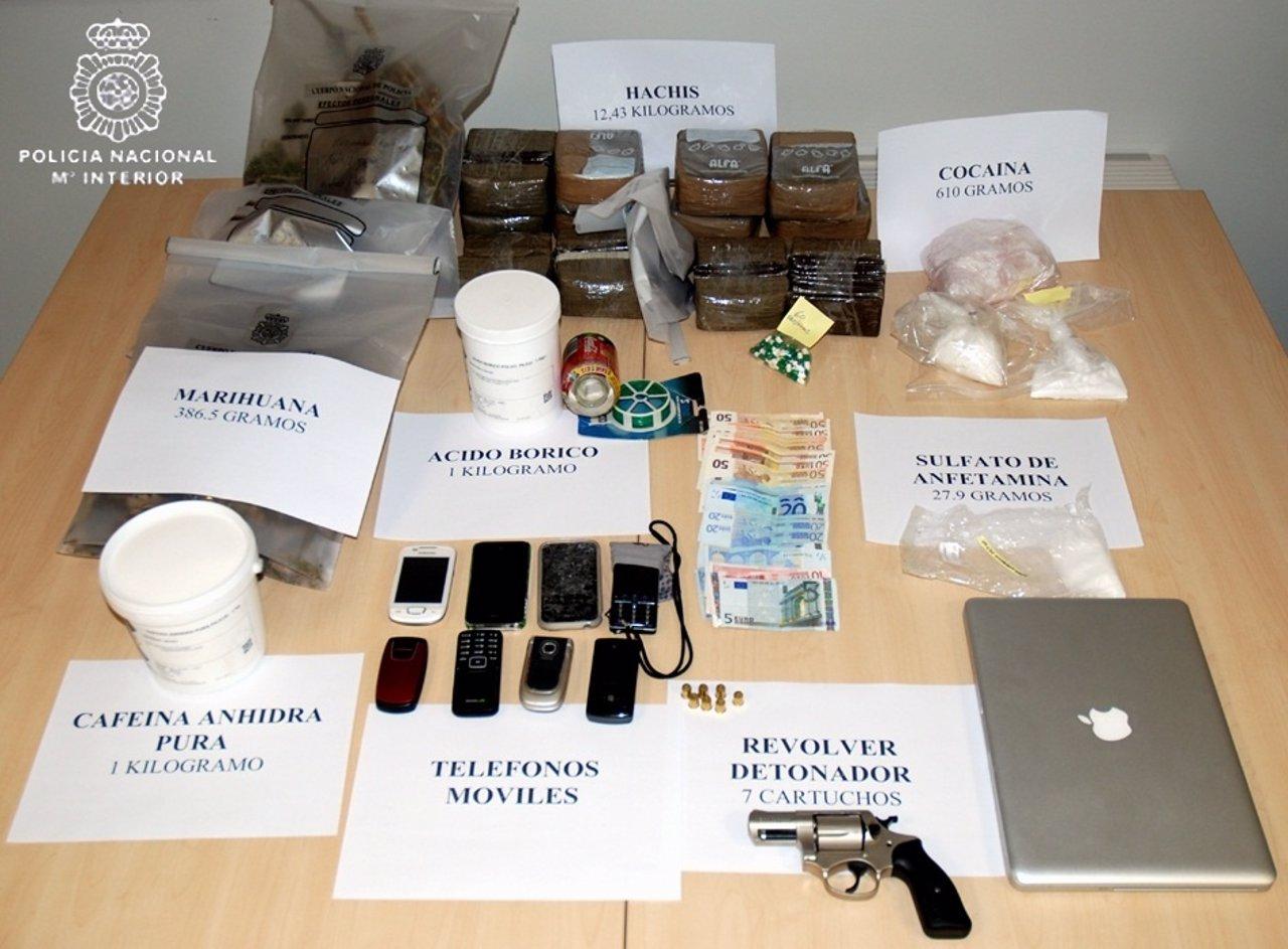 Objetos Intervenidos En La Operación