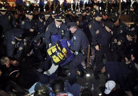 'Occupy Wall Street' Cumple 6 Meses Con La Toma Del Parque Zuccotti