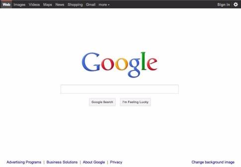 Interfaz De Google