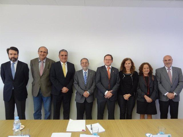 El Rector Martínez De Pisón Nombrado Presidente Del Consejo Admon AUGE