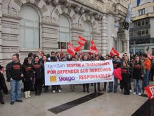 Menifestación Contra Los Despidos En La ETT Nexian