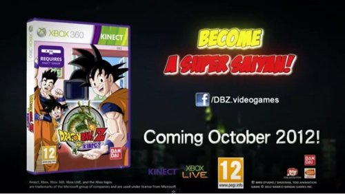 Dragon Ball Z for Kinect: conviértete en super saiyan