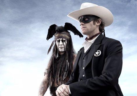 Primera Foto De Johnny Depp Y Armie Hammer En El Llanero Solitario