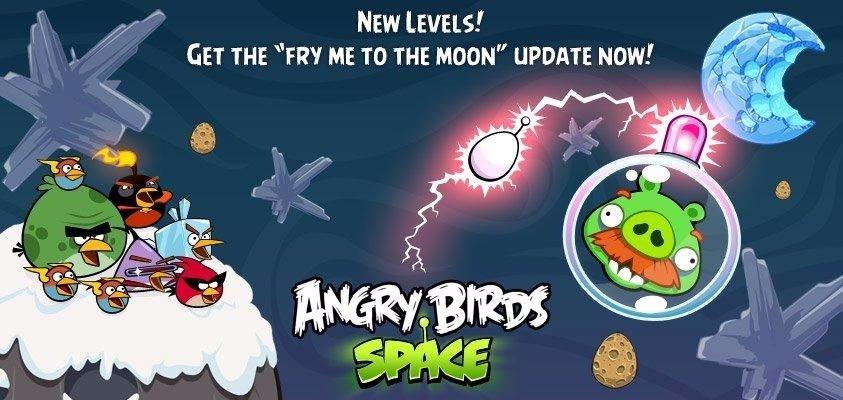 Actualización Angry Birds Space