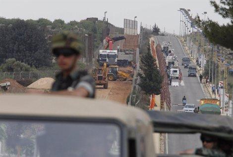 Muro De Separación Entre Israel Y Líbano