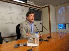 Javier Fernández, Durante La Rueda De Prensa.