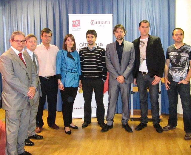 Acto De Entrega De Premios Del Concurso De Ideas De Negocios