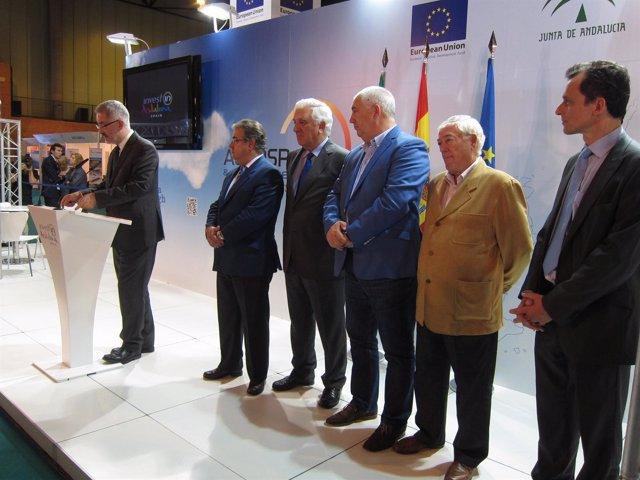 Inauguración Oficial Del 'Aerospace & Defense Meetings Sevilla 2012' (ADM)