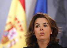 Soraya Sáenz De Santamaría En La RDP Del Consejo
