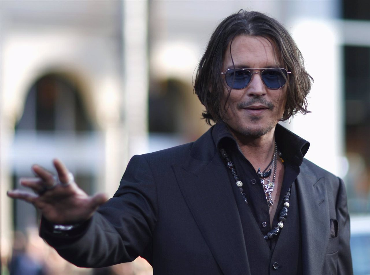 Johnny Depp Presenta 'Sombras Tenebrosas' En Los Angeles