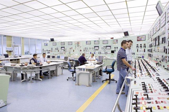 Sala De Control De La Central Nuclear De Garoña (Burgos).