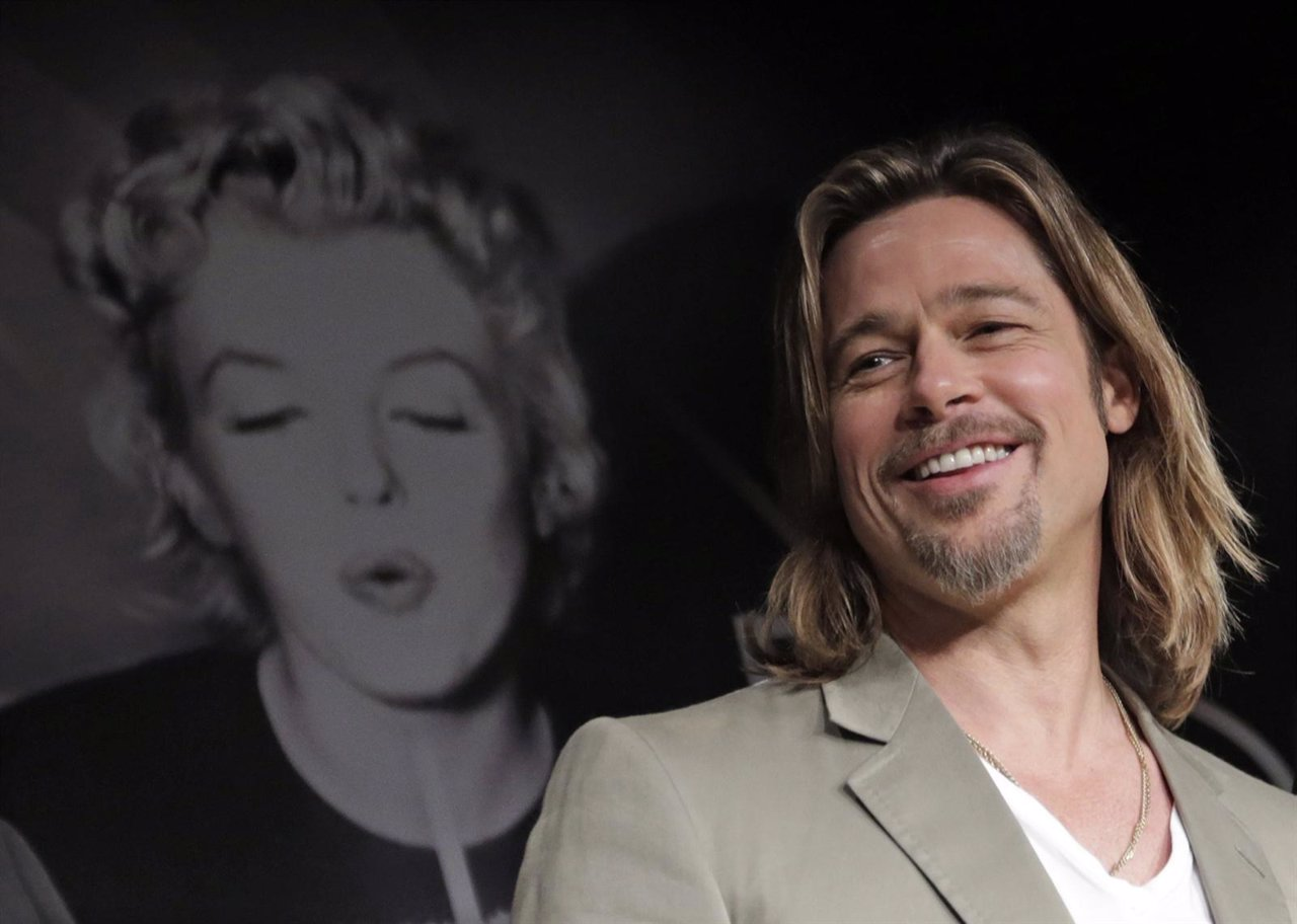 Brad Pitt en Cannes con Killing Them Softly'