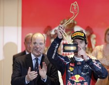 Mark Webber Con El Príncipe De Mónaco