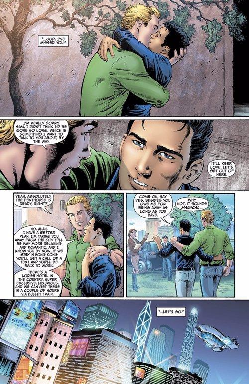 DC Comics: Linterna Verde sale del armario