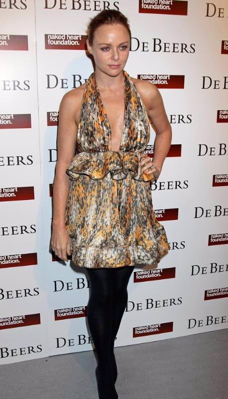 La diseñadora Stella McCartney