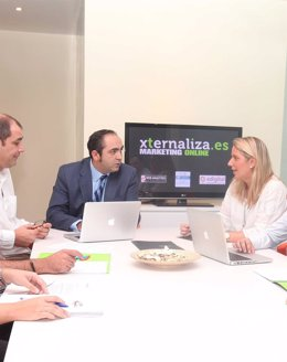 Equipo De La Empresa Murciana Xternaliza Marketing Online