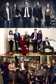 Montaje The Following, Political Animals, The Newsroom