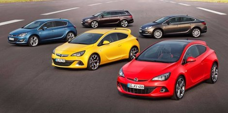 Gama Del Opel Astra