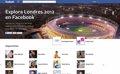 Facebook lanza una página dedicada a los Juegos Olímpicos