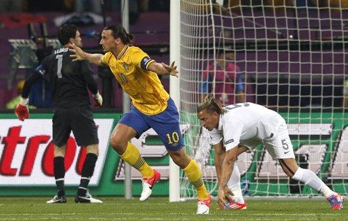 Ibrahimovic Marcó El Primero Ante Francia