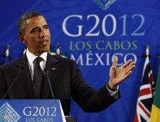 El Presidente De Estados Unidos, Barack Obama, En El G-20
